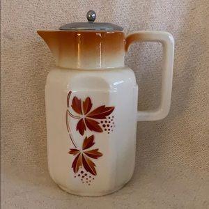 Ceramic Coffee Pitcher